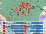 Fulham England Map City Of London Map Uk