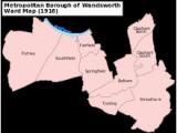 Fulham England Map Streatham Wikipedia