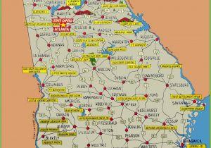 Gainesville Georgia Map New south Georgia Map Usa Superdupergames Co