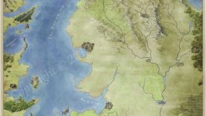 Game Of Thrones Ireland Map the Free Cities Map for Game Of Thrones A song Of Ice and