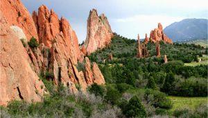 Garden Of the Gods Colorado Springs Map Colorado Springs Garden Of the Gods Activities Colorado Com