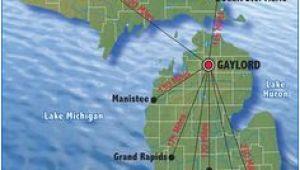 Gaylord Michigan Map Otsego Lake Gaylord Mi