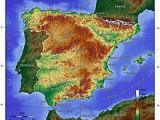 Geographical Map Of Spain Spain Wikipedia