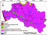 Geological Map Italy Geological Map Of the Netravati and Gurpur River Basins source