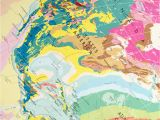 Geological Map Italy World Geology Map by the Future Mapping Company Notonthehighstreet Com