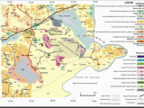 Geological Map Of Alabama Geological Map Of the Nagar Parkar Igneous Complex Modified after