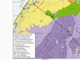 Geological Map Of Alabama Route and Geosites Location Of the Geoheritage Trail A Plotted On