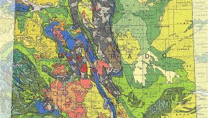 Geological Map Of Colorado Geologic Maps Of the 50 United States