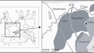 Geological Map Of France Geographical and Geological Maps Of Velaux La Bastide Neuve