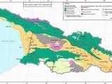 Geological Map Of Georgia Evolution Of the Late Cenozoic Basins Of Georgia Sw Caucasus A