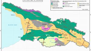 Geological Map Of Georgia Evolution Of the Late Cenozoic Basins Of Georgia Sw Caucasus A