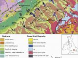 Geological Map Of northern Ireland Geological Map Of the Chilterns Hills and Lowlands to the