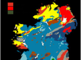 Geological Map Of northern Ireland Geology Of Ireland Revolvy