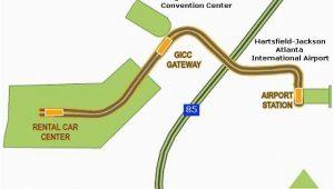 Georgia Airport Map atlanta Airport Skytrain Map atlanta Airport atlanta Airport