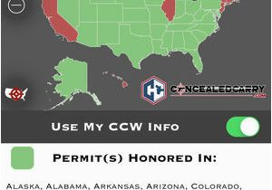 Georgia Carry Reciprocity Map Concealed Carry Gun tools On the App Store