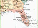 Georgia Coast Map Map Of Alabama Georgia and Florida