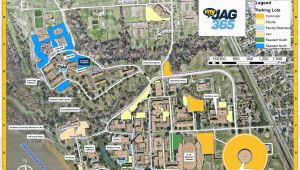 Georgia College and State University Map Campus Map southern University and A M College