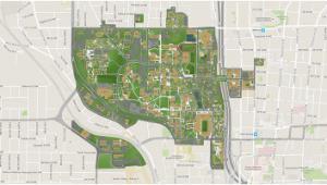Georgia College Campus Map Georgia Tech