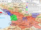 Georgia Country Location In World Map Georgian Civil War Wikipedia