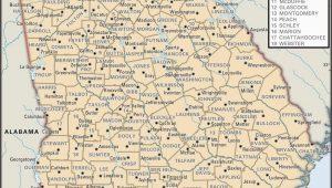 Georgia County Map Pdf State and County Maps Of Georgia