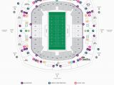 Georgia Dome Tailgating Map Football Seating Charts Mercedes Benz Superdome