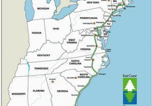 Georgia East Coast Map Bucket List the Nearly Complete 3 000 Mile Long East Coast Greenway