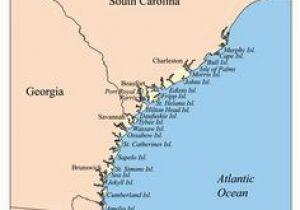 Georgia East Coast Map Georgia Beaches Map Awesome Florida Map Beaches Lovely Destin