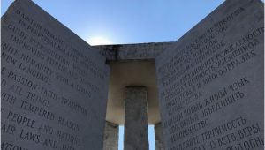Georgia Guidestones Location Map Very Interesting We Were In atlanta and Decided to Drive On Over to