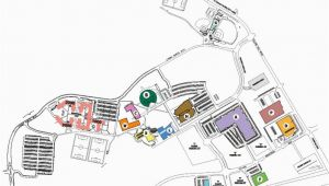 Georgia Gwinnett College Map Maps and