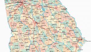 Georgia Hwy Map Driving Map Of southern California Valid Georgia Road Map Ga Road