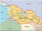 Georgia In Europe Map the Georgia Sdsu Program is Located In Tbilisi the Nation S Capital