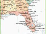 Georgia Map Of Cities and towns Map Of Alabama Georgia and Florida