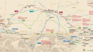 Georgia National Parks Map Maps Trail Of Tears National Historic Trail U S National Park
