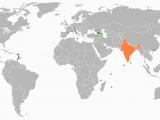 Georgia On World Map Georgia India Relations Wikipedia