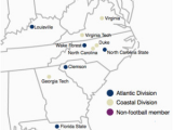Georgia Outdoor Map atlantic Coast Conference Wikipedia