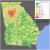 Georgia Population Density Map Demographics Of Georgia U S State Wikipedia