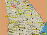 Georgia State Map with Cities Georgia State Maps Usa Maps Of Georgia Ga