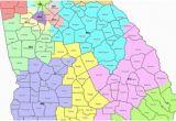 Georgia State Senate District Map Map Georgia S Congressional Districts