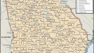 Georgia topographic Map Free State and County Maps Of Georgia