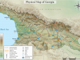 Georgia Wine Highway Map Geography Of Georgia Country Wikipedia