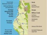 Giant Redwoods California Map Travel Info for the Redwood forests Of California Eureka and