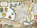Golf In France Map Antique Map Of France Maps France Map Antique Maps Map Art