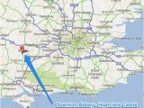 Google Earth Map Of Ireland Downton Abbey Fans tour Highclere Castle From London Google Map