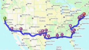 Google Map Los Angeles California Driving Distance Map Awesome Map Distance Google Maps Fresh Map Od