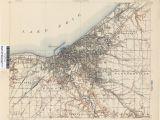 Google Maps Akron Ohio Ohio Historical topographic Maps Perry Castaa Eda Map Collection