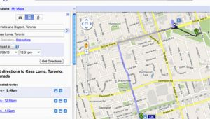 Google Maps Canada Ontario A Closer Look at Ttc Routes On Google Maps