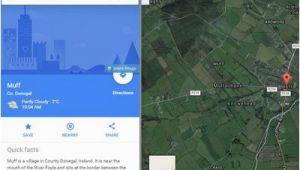 Google Maps Donegal Ireland Travel Review Of Google Maps for A Vacation In Ireland