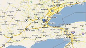 Google Maps toronto Ontario Canada Dundas Ontario Location and Population