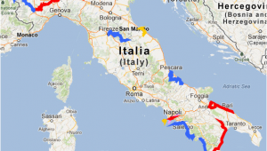 Google Maps Treviso Italy the tour Of Italy 2013 Race Route On Google Maps Google Earth and