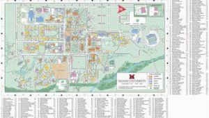 Granville Ohio Map Oxford Campus Map Miami University Click to Pdf Download Trees